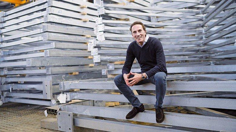 Der Chef: Paul Niederstein leitet das 1502 gegründete Unternehmen. Es gibt – inklusive Beteiligungen – mehr als 2.000Menschen Arbeit.