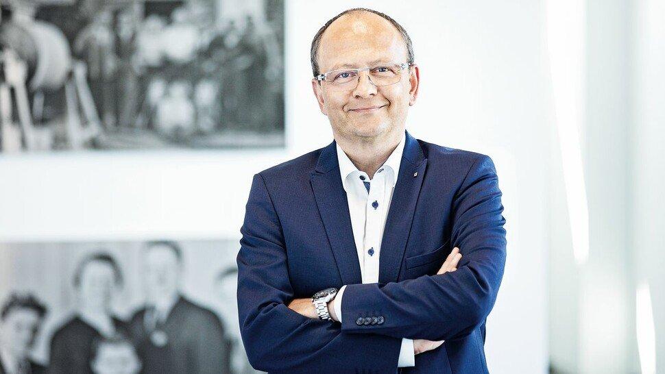 Hans-Jörg Vollert, Geschäftsführer der Vollert Anlagenbau GmbH, Weinsberg.