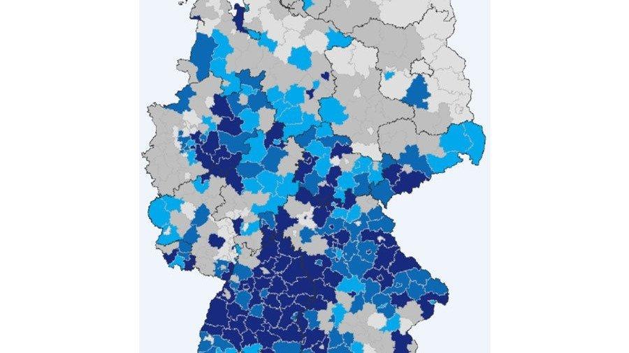 industriedichte deutschland karte Studie belegt enorme Bedeutung der Metall  und Elektro Industrie