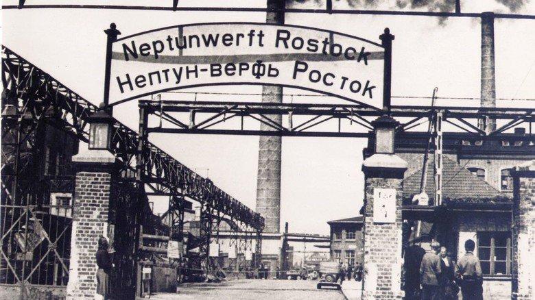 Nach dem Krieg: Die Werft wurde in eine Sowjetische Aktiengesellschaft umgewandelt und baute vor allem Hebeschiffe zur Bergung von Schiffswracks und Logger für die UdSSR.