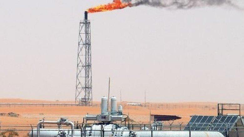 Ungebremste Förderung: Ölfeld in Saudi-Arabien. Foto: dpa