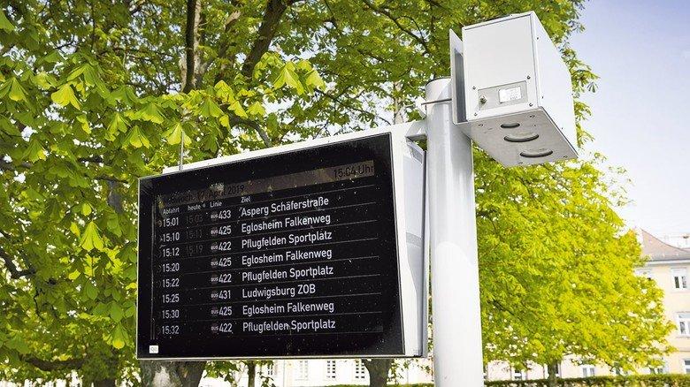 Flexibel: Die kompakte Messbox lässt sich überall im Stadtgebiet einsetzen.