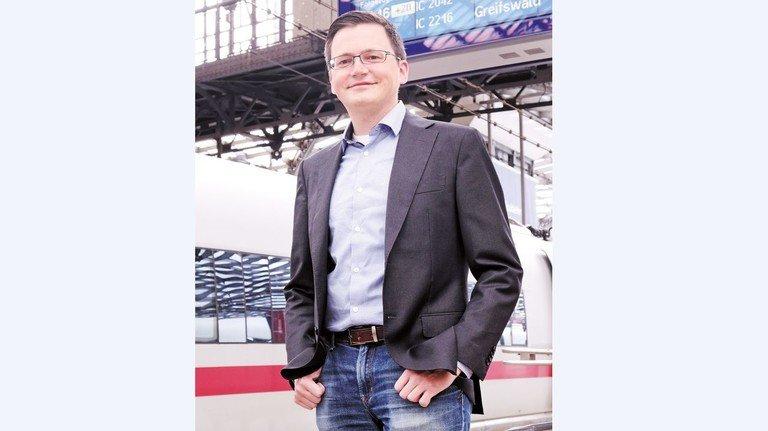 """Alexander Labinsky:""""Der Mangel an Fachpersonal verzögert internationale Bahnprojekte."""""""