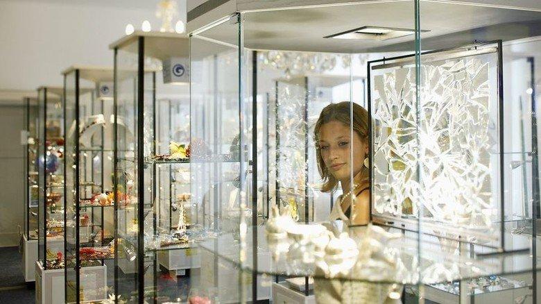 Winterliches Leuchten: Erlebnisausstellung der Gablonzer Industrie. Foto: Kaufbeuren Marketing