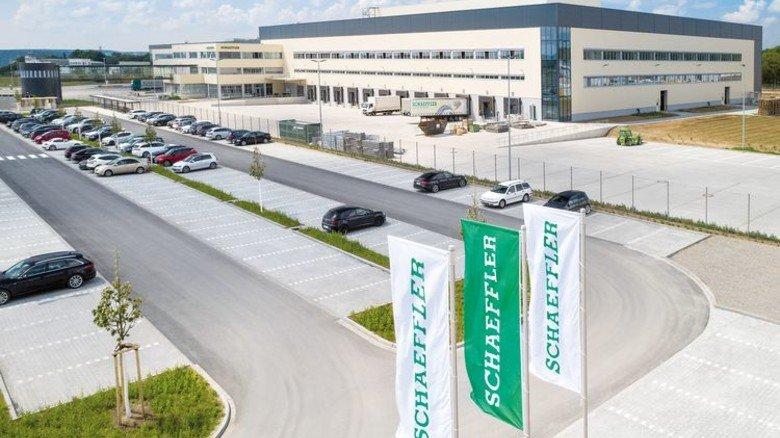 110 Millionen Euro: So viel hat Schaeffler in das neue Logistikzentrum in Kitzingen investiert. Foto: Werk