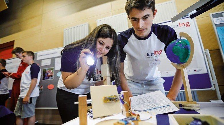 Spannend: In den Projekten der Schüler ging es nicht nur um Technik, sondern auch um Ökologie.