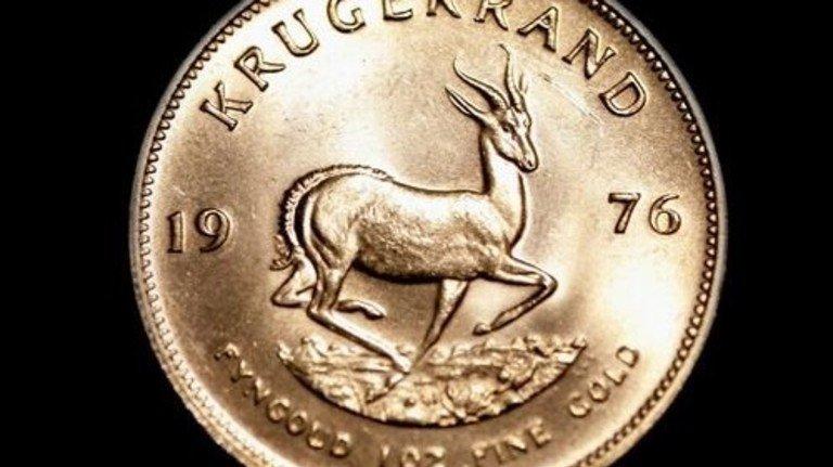 """Gold-Klassiker: Eine """"Krügerrand""""-Münze aus Südafrika. Foto: Getty"""