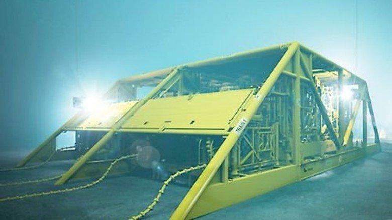 Vollautomatisch: Gasfabrik von MAN in der norwegischen See. Foto: Werk