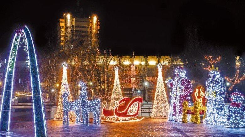 Schön anzusehen: In der Weihnachtsbeleuchtung werden LEDs schon länger eingesetzt. Foto: iStock