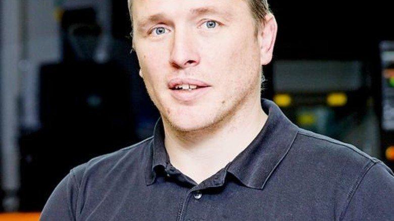 """""""Wir haben viel Geld in die Weiterbildung unserer Mitarbeiter gesteckt."""" Christoph Hauck, Geschäftsführer. Foto: Karmann"""