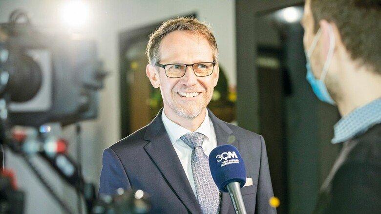 Gefragter Gesprächspartner: Torsten Muscharski, Verhandlungsführer der Arbeitgeber.