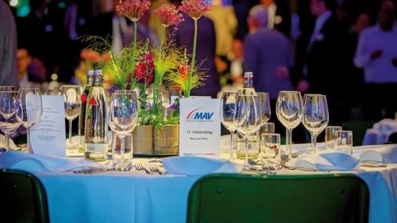 Festliches Ambiente: Der Verbandstag des MAV in Hagen war gut besucht. Foto: Nougrigat