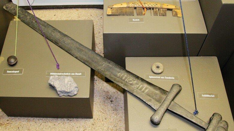 Alte Fundstücke: In dem Museum sind zahlreiche Exponate zu sehen.