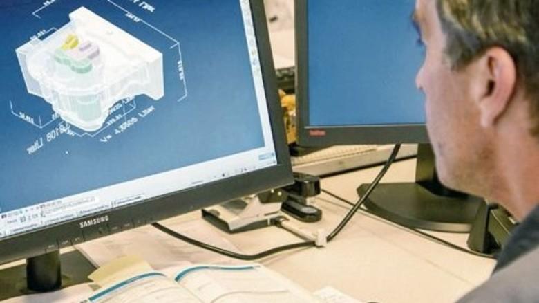 Nichts ist Zufall:  Die Geometrie jedes Gussteils wird am Computer berechnet. Foto: Junker