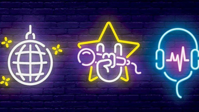 Neon: Das Element leuchtet je nach Druck in der Röhre in verschiedenen Farben.