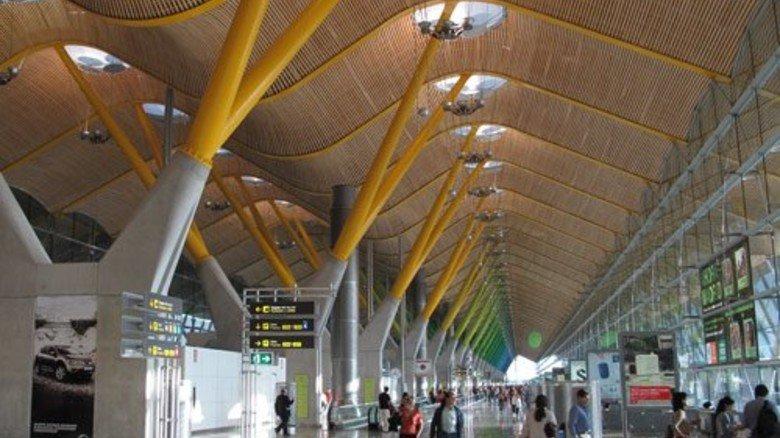 Rang 6: Flughafen Madrid-Barajas