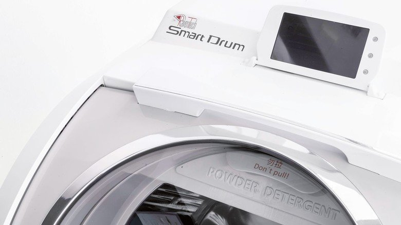 Smart Drum: In der 3-D-Waschmaschine steckt Technik aus Nürnberg.
