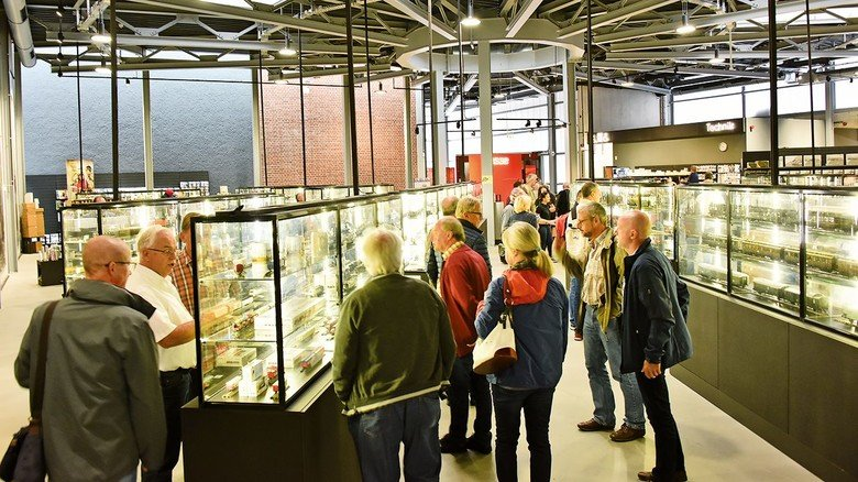 Märklineum:  Die Besucher  der Märklintage können einen ersten Blick ins neue Märklinmuseum werfen, das 2020 eröffnet wird.