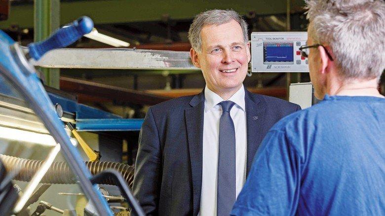 Er will Westland für die Zukunft gut aufstellen: Geschäftsführer Georg zur Nedden.