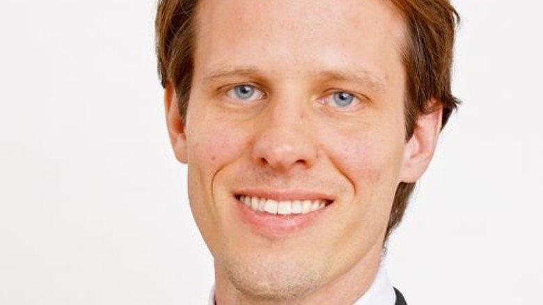Leon Leschus, Rohstoff-Experte am Wirtschaftsforschungsinstitut HWWI in Hamburg. Foto: HWWI