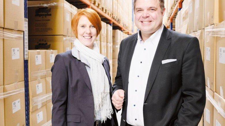 Neues Geschäftsfeld aufgebaut: Das Unternehmerehepaar Tanja und Jan Timmer. Foto: Verband