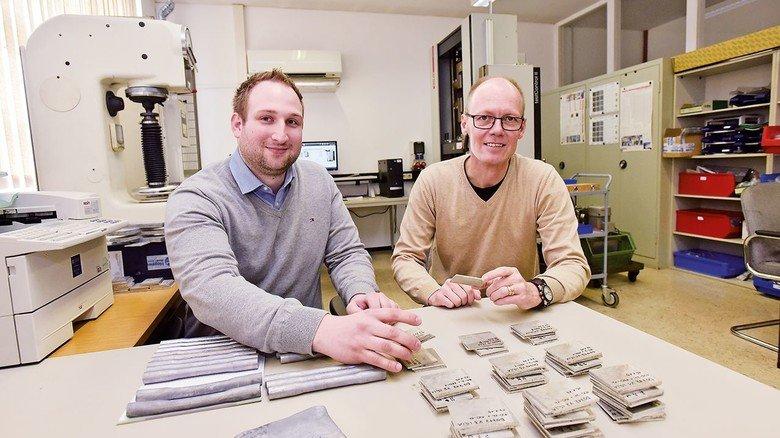 Starke Teammitglieder: Ingenieur Fabian Niklas (links) bringt frische Ideen ein.
