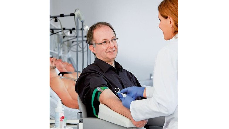 Unter Beobachtung: Für manche Testreihen bleiben die Probanden über Nacht in einer Klinik. Foto: Werk