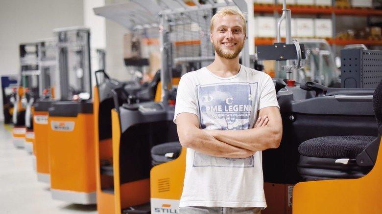 Im Betrieb: Matthias Haase in der Zentrale von Still im Hamburger Stadtteil Billbrook.