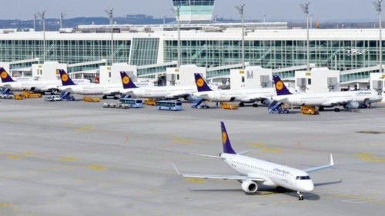Rekord: 2015 brachte insgesamt 380.000 Starts und Landungen. Foto: Flughafen München