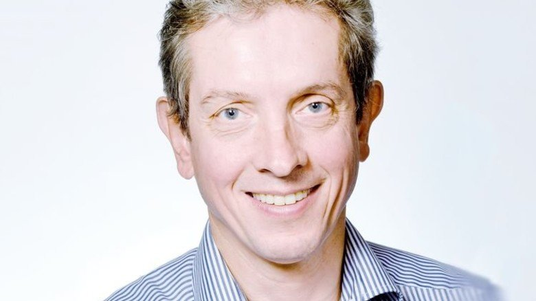 Professor Wolfram Burgard von der Albert-Ludwigs-Universität Freiburg. Foto: Uni Freiburg