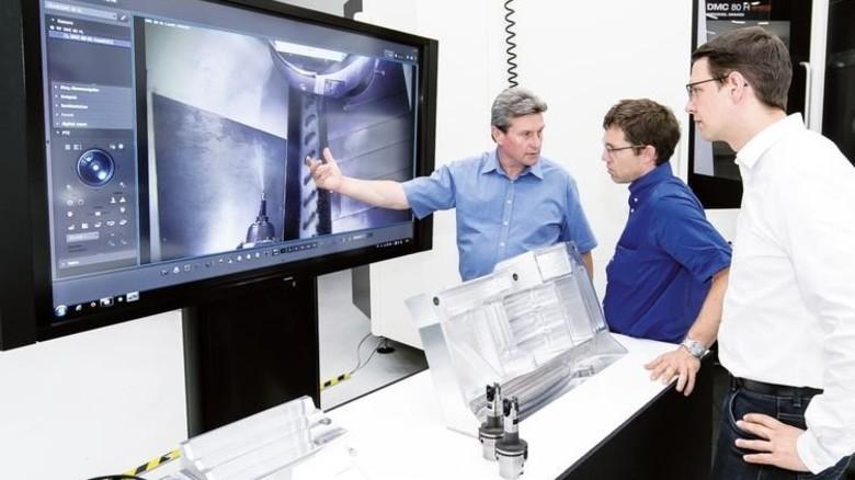 Digitale Werkzeuge: Für Kunden hat die Walter AG schon viele Apps entwickelt. Foto: Mierendorf