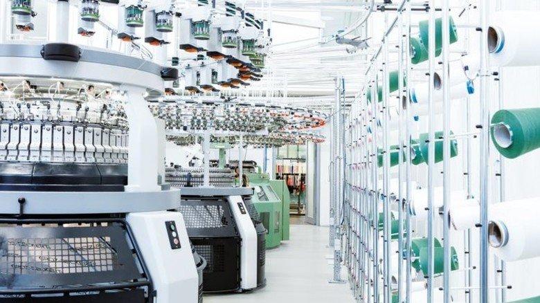 Modern: Maschinentechnikum im Technologie- und Entwicklungszentrum von Groz-Beckert. Foto: Werk