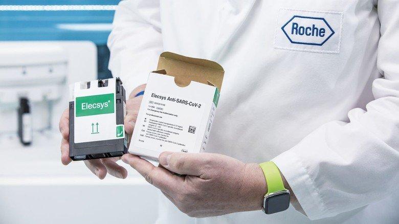 Millionenfach im Einsatz: Der Test von Roche zum Nachweis von Antikörpern auf Corona-Viren.