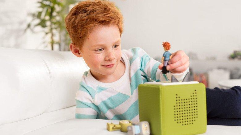 Technik für die Kleinen: Einfach den Tonie auf die Box setzen und zuhören.