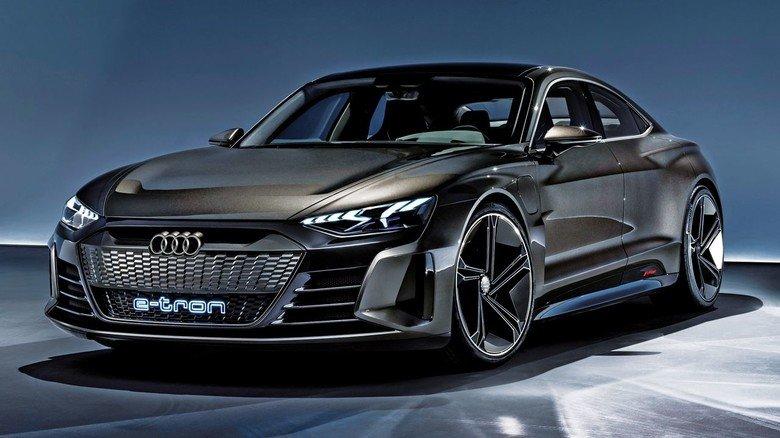 Der Audi e-tron GT: In seiner Vormontage wird 3-D-Druck eingesetzt.