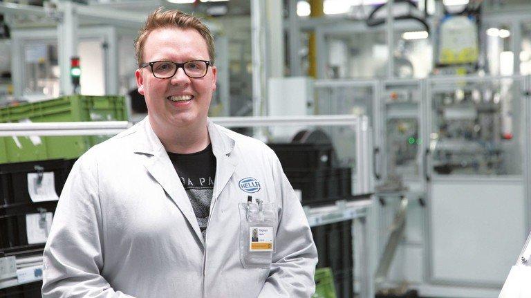 Sozial aktiv: Der 34-jährige Maschinenbau-Ingenieur war bereits an zahlreichen Projekten beteiligt.