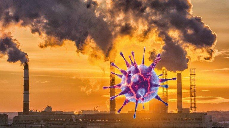 Illustration des Corona-Virus: Es droht, der Weltwirtschaft einen zusätzlichen Schlag zu versetzen, warnt die OECD.