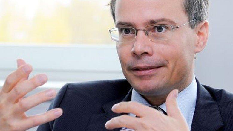 """""""Innovation, Qualität und Liefertreue sind für unsere Kunden ausschlaggebend."""" Johannes Nührenberg, Standortleiter. Foto: Sturm"""