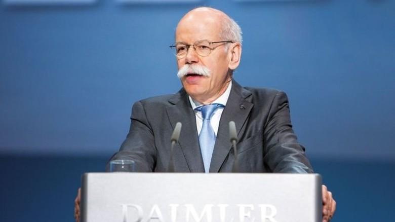 """""""Emissionsfreie Autos sind die Zukunft."""" Dieter Zetsche, Vorsitzender des Vorstands von Daimler. Foto: Werk"""
