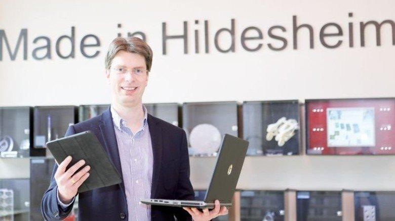 Neue Technologien stärken: Oberbürgermeister Ingo Meyer setzt auch im Standortmarketing auf Digitales. Foto: Meyer