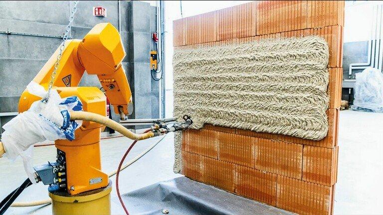 Automatisiert: Das Material kann maschinell verarbeitet werden, auch mithilfe von Robotik.