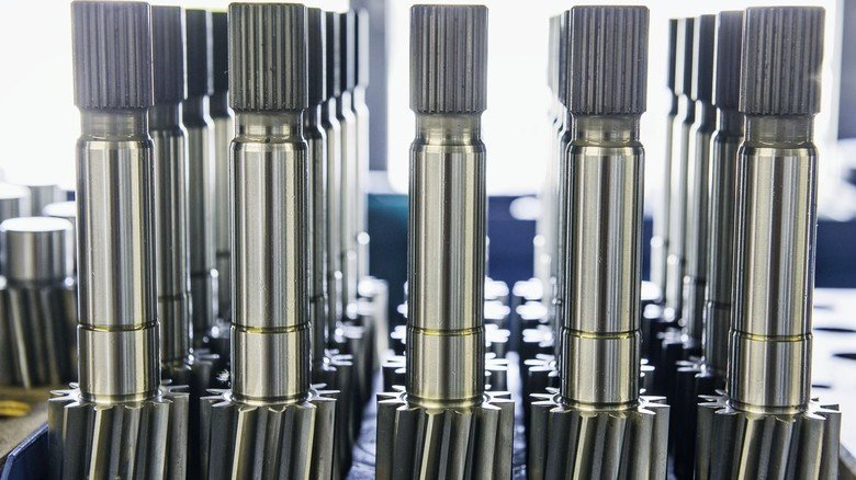 Herzstück: Die Witte-Pumpen sind deshalb so robust, weil sie das Fördergut mit Zahnrädern bewegen.