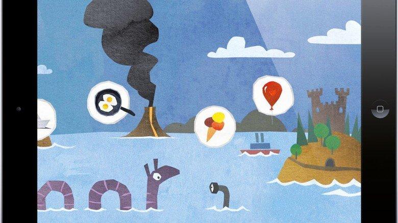 """""""Fiete der Seemann"""": Dieses Game animiert die Jüngsten zum Kombinieren und Puzzeln."""