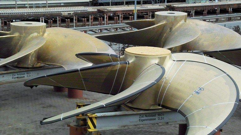 MMG: Der Schiffspropeller- Hersteller kämpft unter anderem mit Problemen bei Zulieferungen.