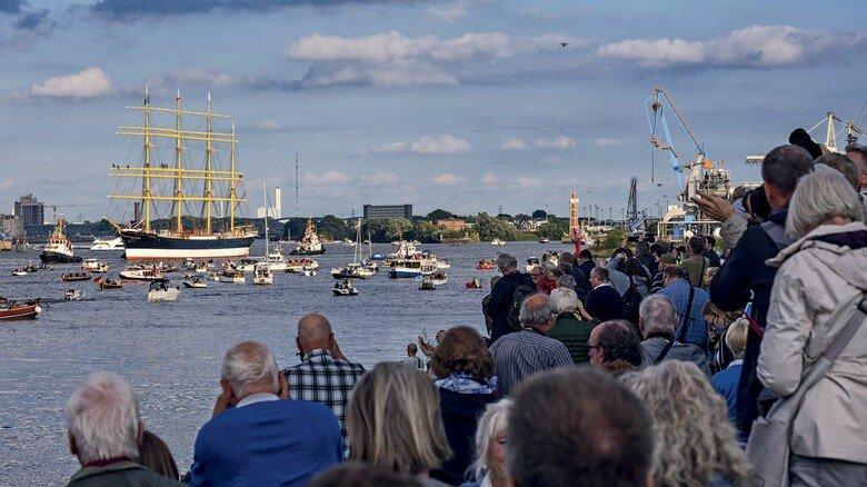 Heimkehr: Im September kam das Schiff zurück in den Hamburger Hafen.