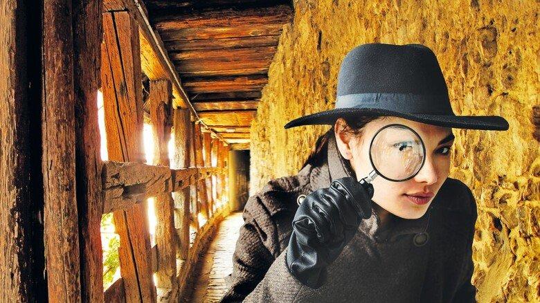 Krimischauplatz mit mittelalterlichem Flair: In diesem Wehrgang spielt eine Action-Szene bei Krimi-Autor Jürgen Seibold.