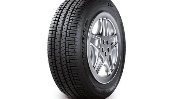 Schmal und hoch: Der neue Energiespar-Reifen für den Renault Zoe. Foto: Werk