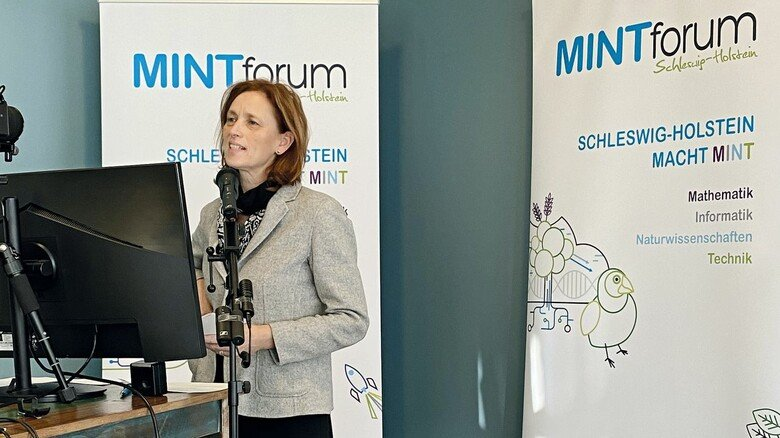 Prominente Teilnehmerin: Karin Prien, Ministerin für Bildung, Wissenschaft und Kultur des Landes Schleswig-Holstein.