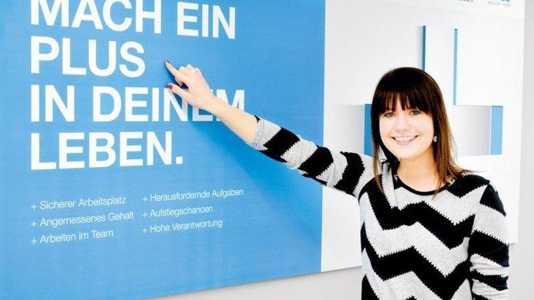 """""""Wir investieren viel Zeit in die Menschen"""": Natalie Spannfellner, Leiterin Personalentwicklung. Foto: Scheffler"""