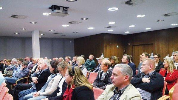 80 Gäste: Die Jahresveranstaltung des Märkischen Arbeitgeberverbands in Iserlohn war gut besucht. Foto: HiGo